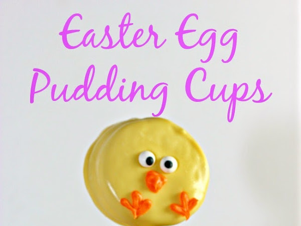 Easter Egg Pudding Cup