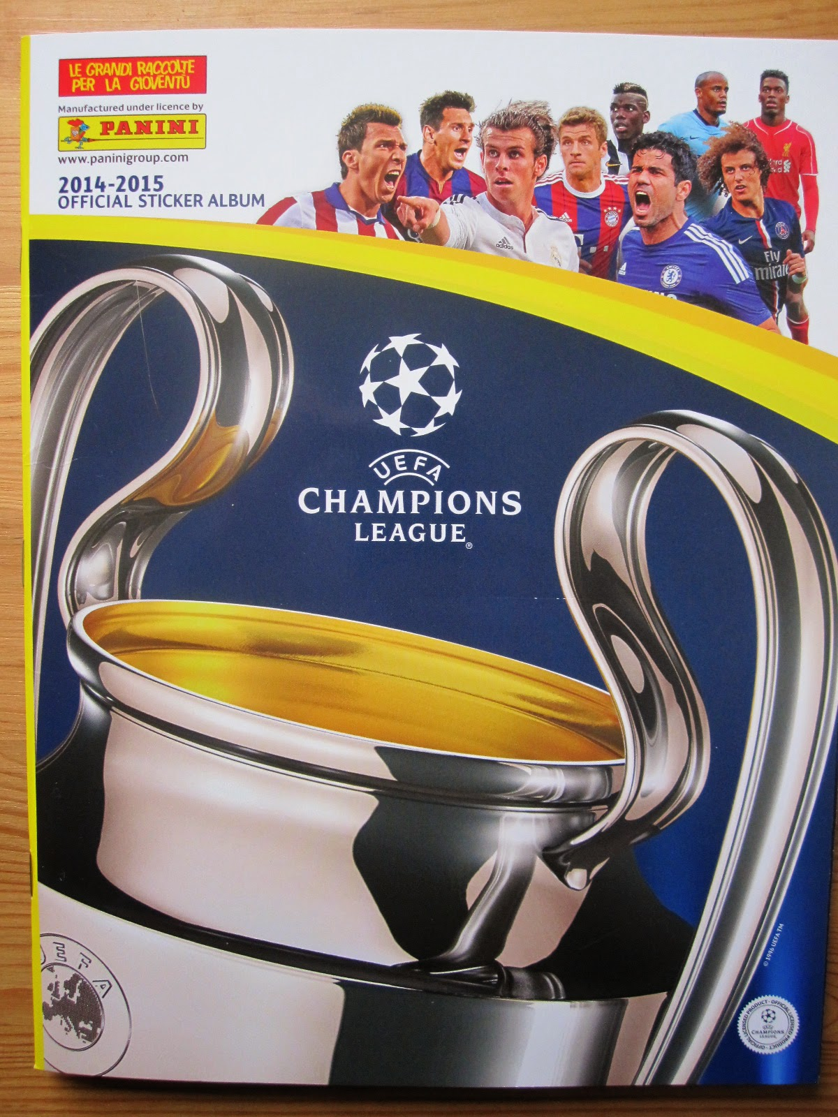 only good stickers panini champions league 2014 2015. Black Bedroom Furniture Sets. Home Design Ideas
