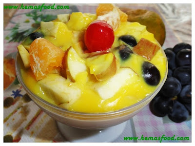 Custard Mixed Fruits