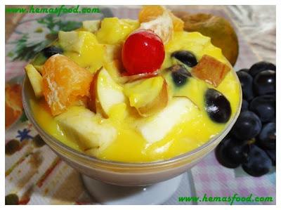 Custard Mixed Fruits