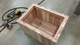 Inside of Cedar Chest