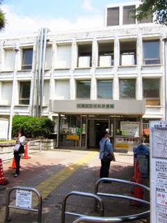 板橋区立図書館の外観写真