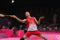 Hasil olimpiade 2012 : taufik vs lin dan