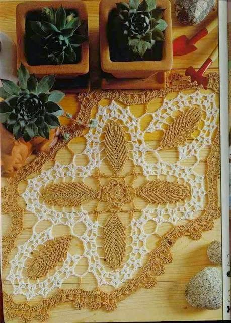 Patrón de carpeta exclusiva para tejer al crochet