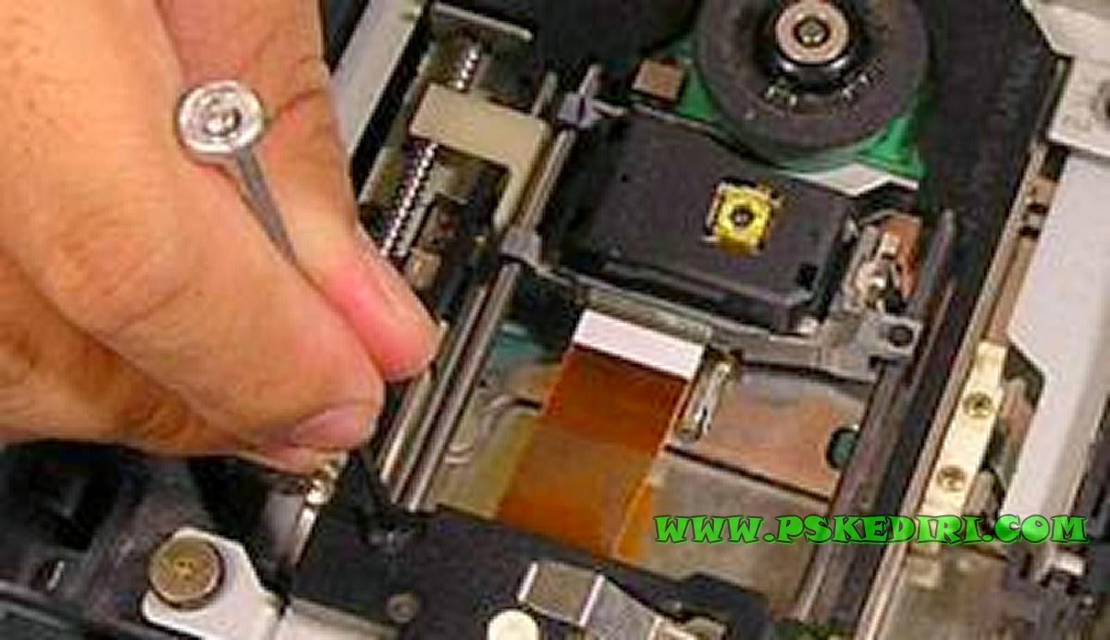 Pengaturan Voltase Laser PS2