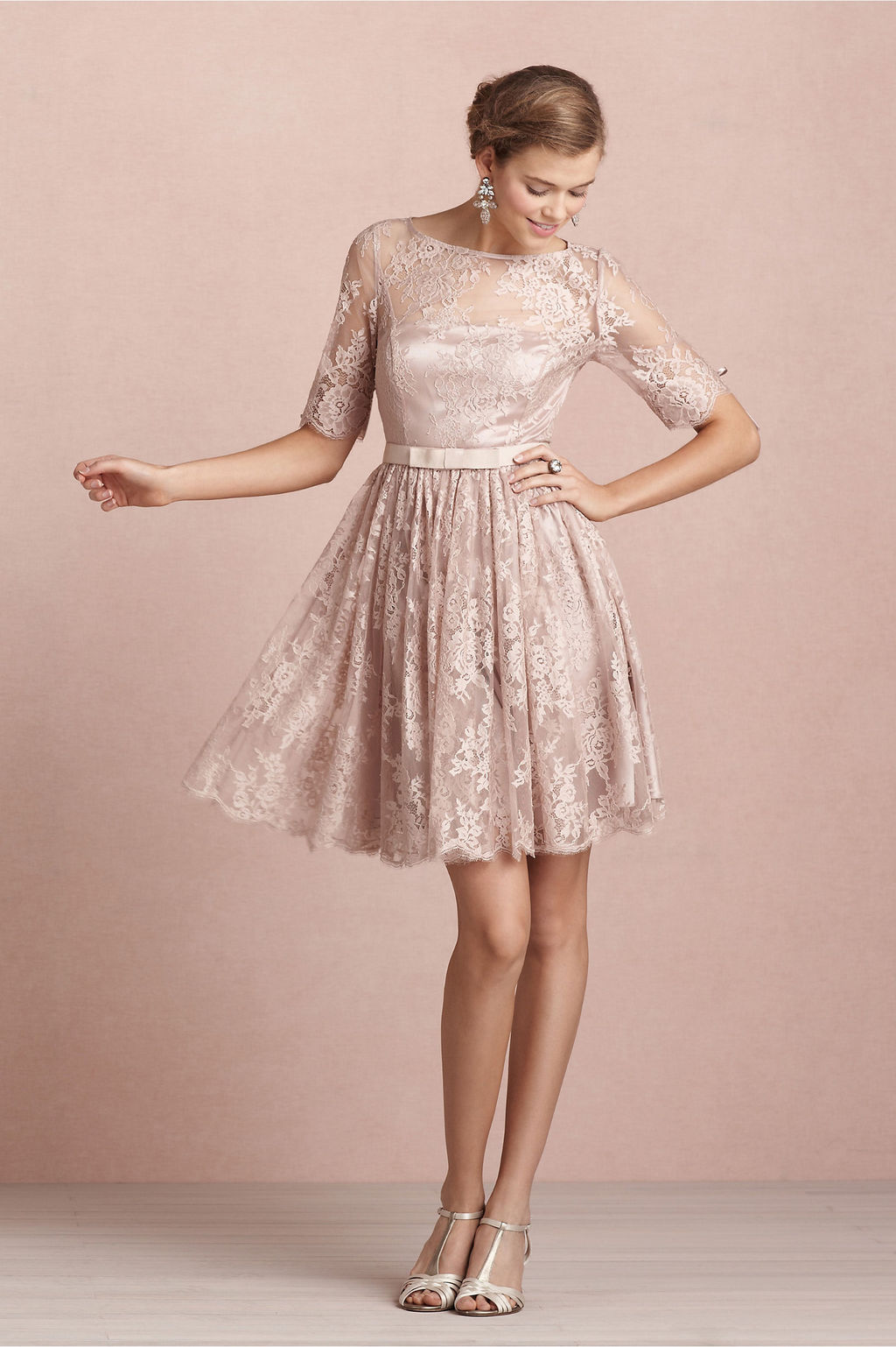 http://www.aislestyle.co.uk/bateau-neck-long-sleeved-lace-pattern-bridesmaid-dress-with-bow-ribbon-p-5649.html