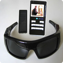 Sun Glass Spy Camera