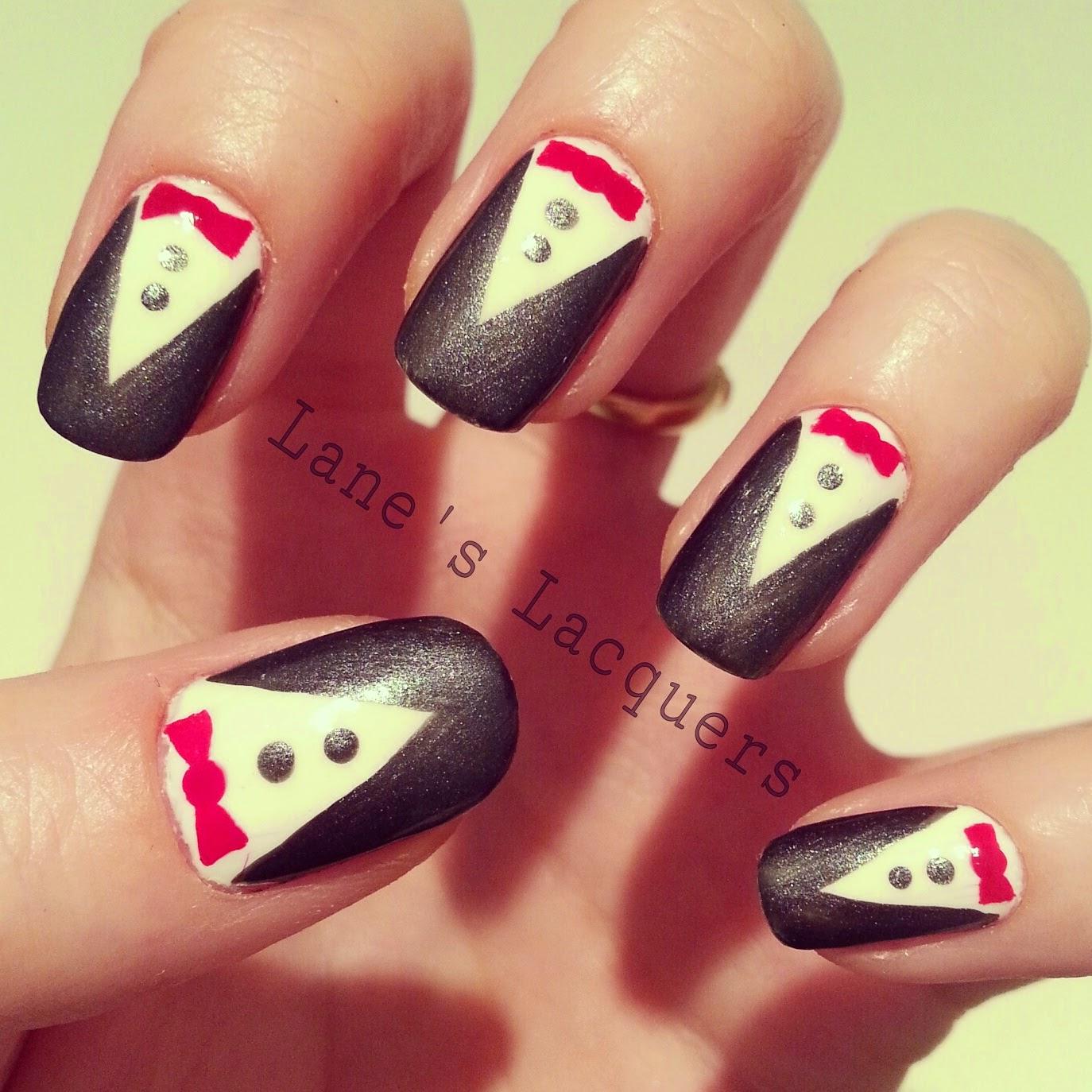 ciate-velvet-tuxedo-red-bow-tie-nail-art