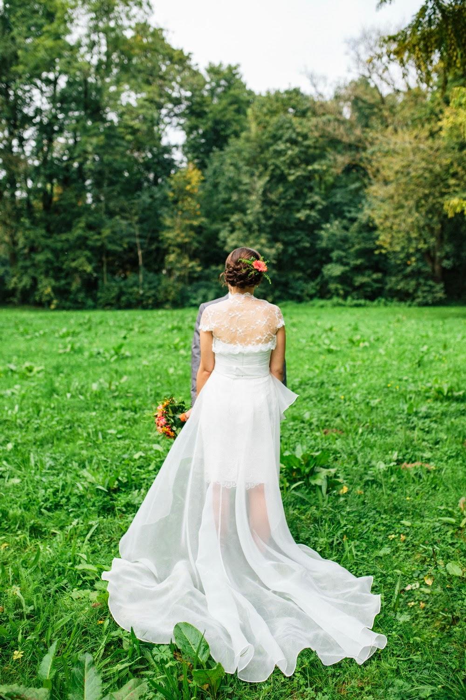 Totally Veg!: Meine vegane Hochzeit - Outfits von Braut & Bräutigam