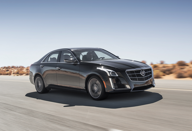 2015 Cadillac CTS Earns 5-Star Safety Rating from NHTSA