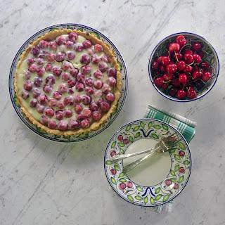 Cherry Ricotta Crostata Tart