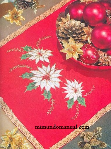 camino de mesa navide u00f1o