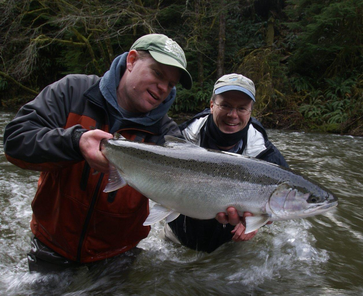 Fly fish oregon water time report bananas can 39 t stop for Oregon steelhead fishing
