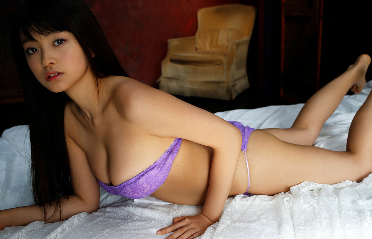 mari yamachi hot purple bikini photos 03