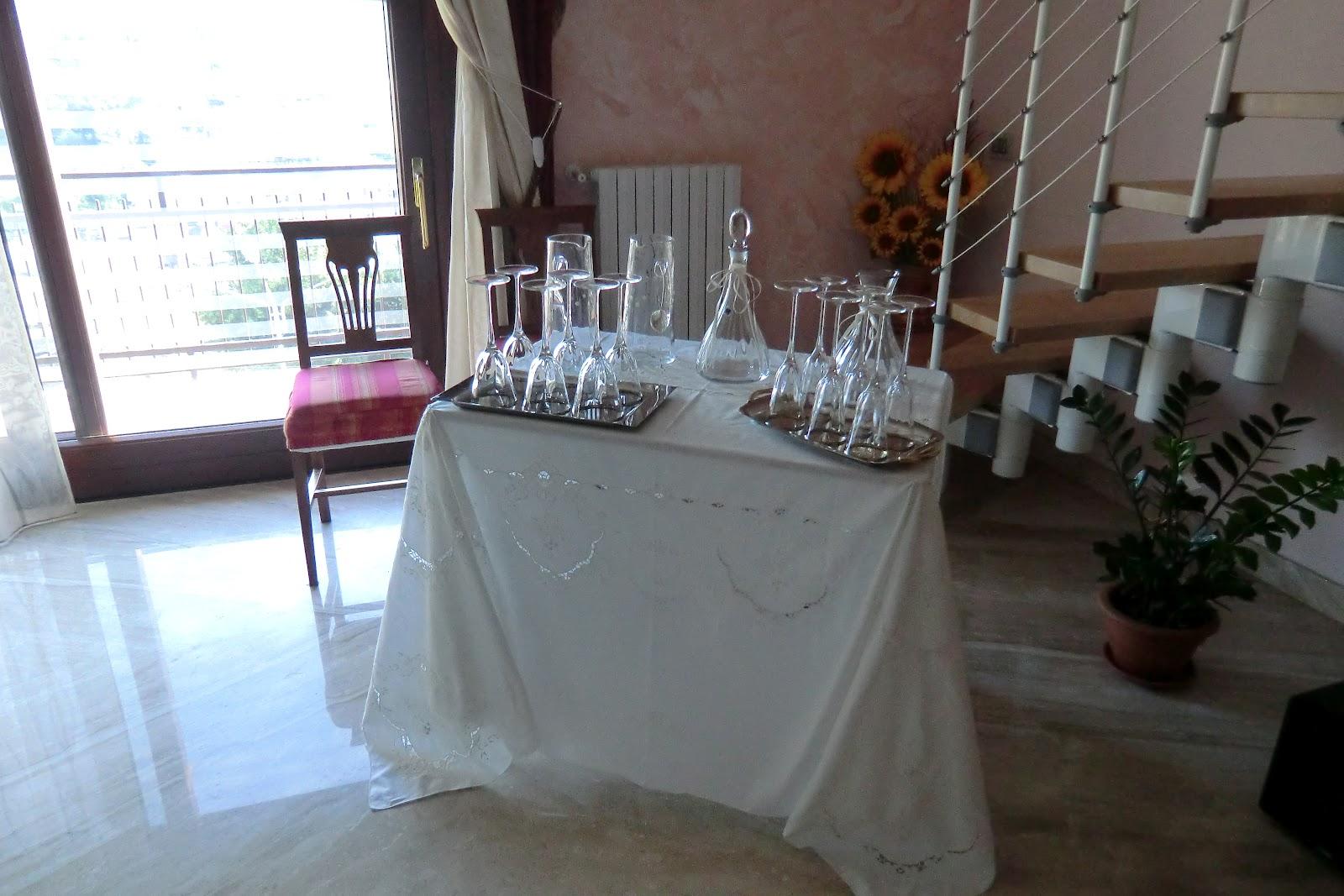 Confetti decorati con pasta di zucchero e addobbi a casa dello sposo l 39 estro creativo - Addobbi casa della sposa ...