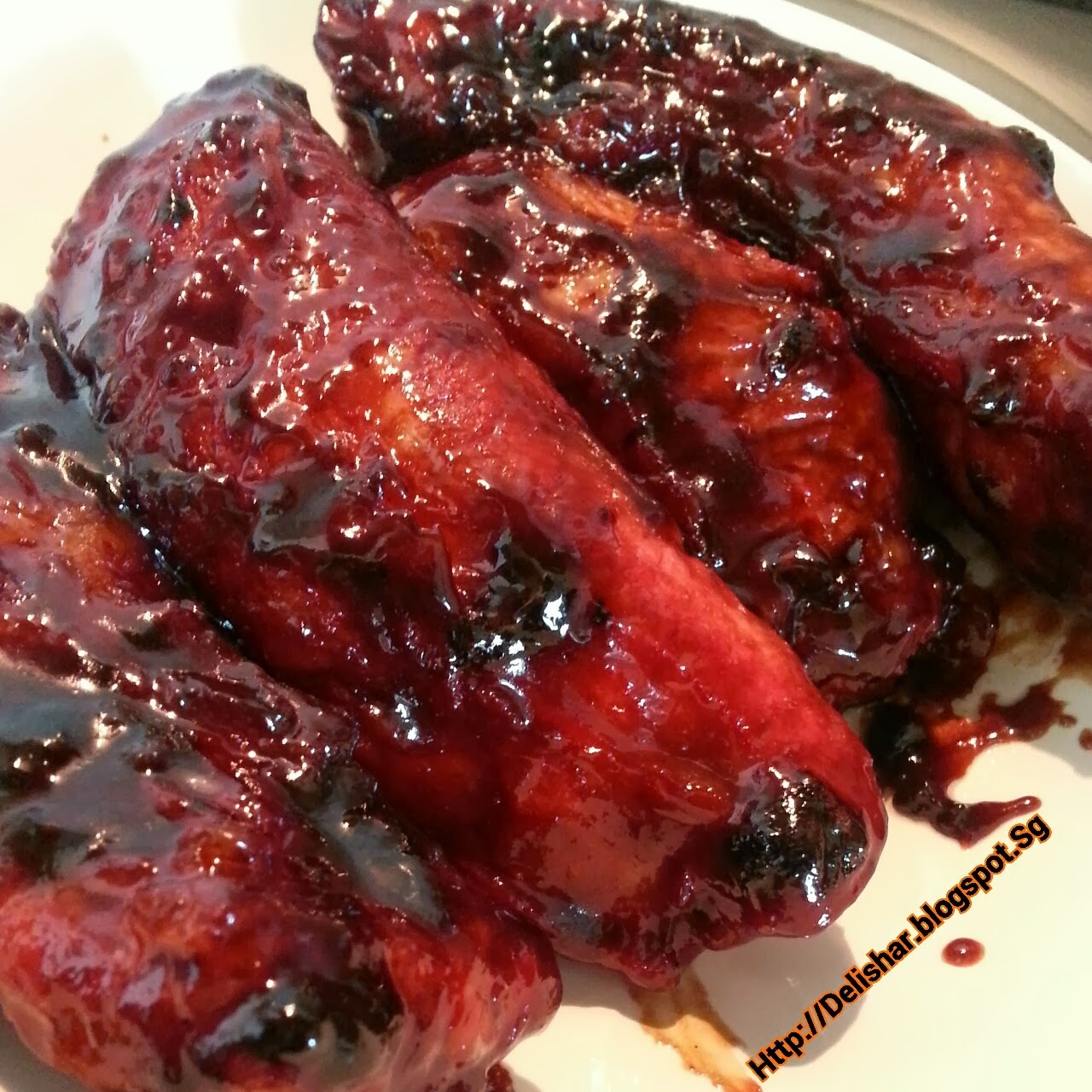 ... : Singapore Cooking & Food Blog: HCP Char Siew (Chinese BBQ pork