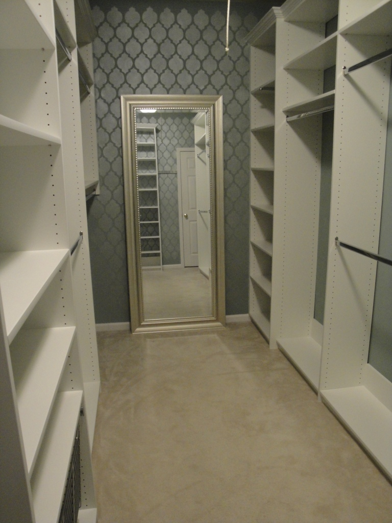 New South Design: Master Closet Makeover - Step 3: Design ...