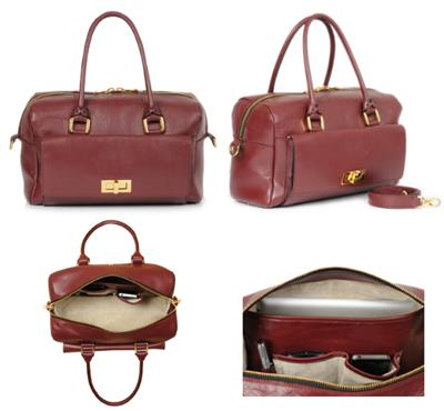 BoBelle Cadogan Bag burgundy