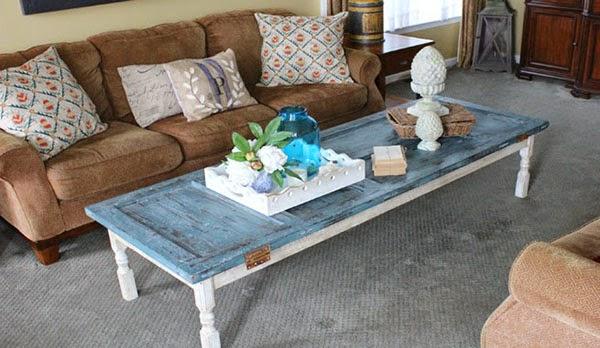 Ideas deco alternativas low cost para crear tu propia for Como decorar una mesa de madera vieja