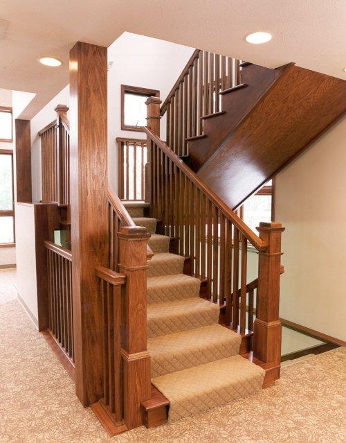 Перила для лестницы своими руками фото 298