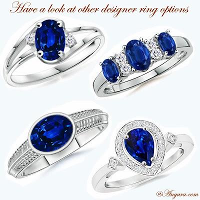 Designer Sapphire Rings