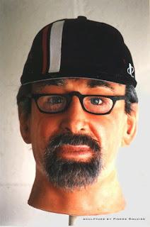 "pierre rouzier_Universal Studios ""spielberg"" portrait sculpture"