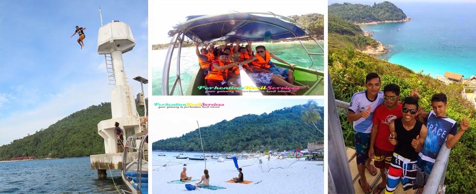 Pakej Pulau Perhentian , 3 hari 2 malam perhentian kecil 2015