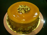 "Pecan Heaven Cake available in round shape 9"" & 7"""