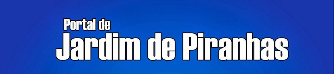 PORTAL DE JARDIM DE PIRANHAS