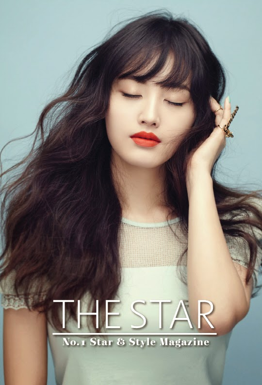 Jaekyung Rainbow - The Star Magazine April Issue 2014