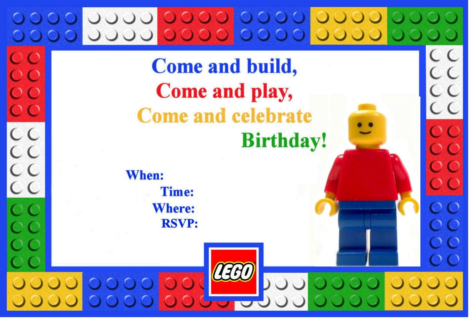 kids birthday party invitations samples