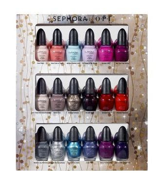Sephora+by+OPI+Glimmer+Wonderland+Eighteen+Piece+Mini+Nail+Colour+Set Last Minute Holiday Gifts For Beauty Lovers