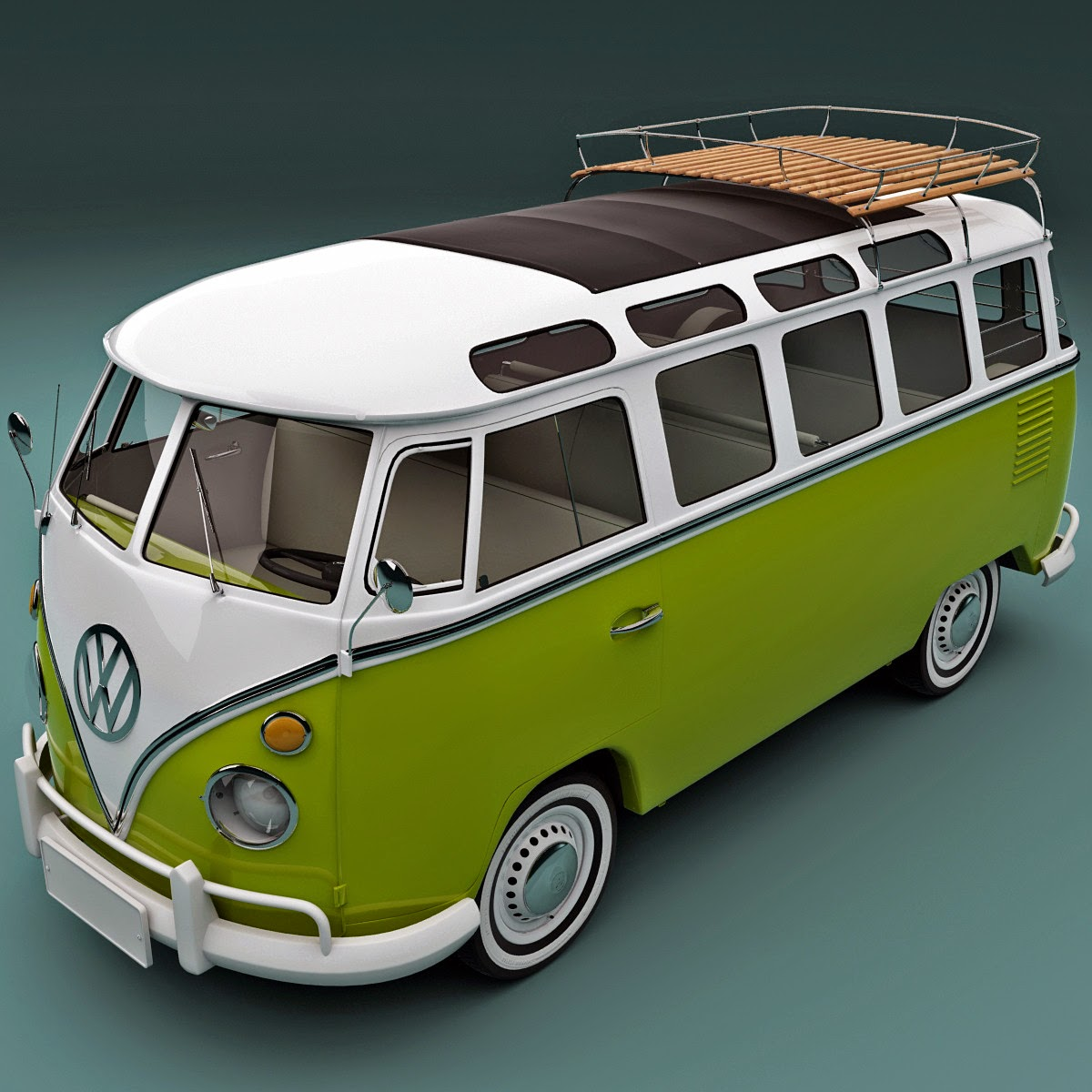 3d volkswagen bulli t1 type2 3d models for professionals. Black Bedroom Furniture Sets. Home Design Ideas