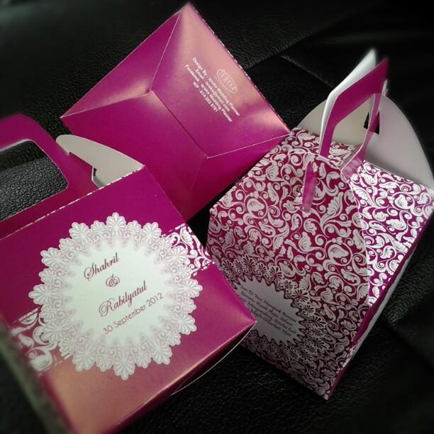 Majlis perkahwinan shahril abby asnita beauty creation for Idea door gift perkahwinan