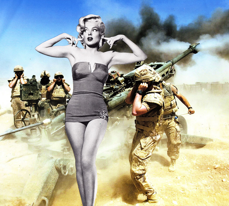 35 Cynical Collages That Tell Uncomfortable Truths About The World - Entertaining The Troops