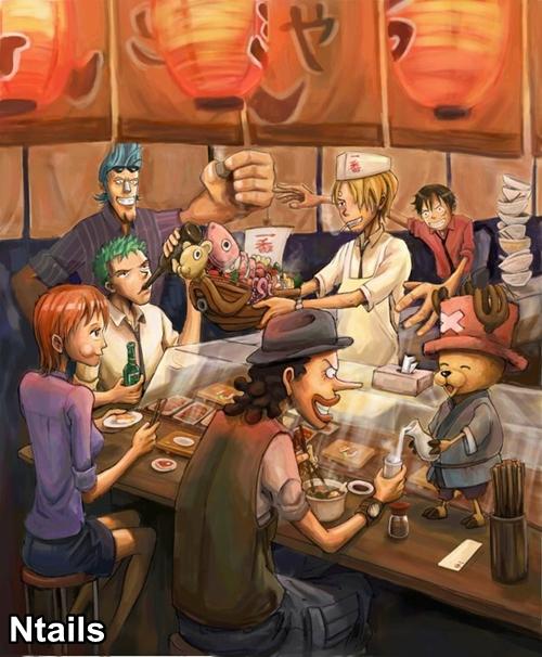 One Piece: Imagens feitas por fãs