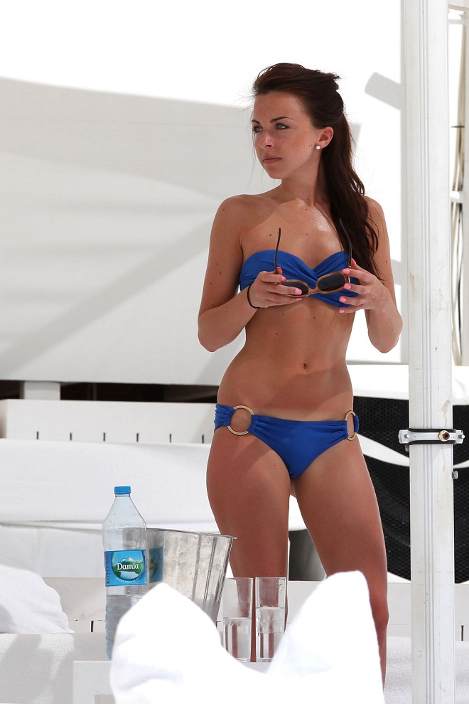 Louisa Lytton in Bikini on Vacation in Turkey