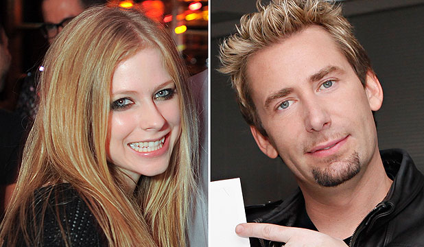 Avril Lavigne and Chad Kroeger Engagement