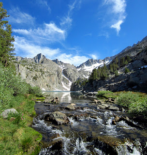 Creek Crossing by Finger Lake.