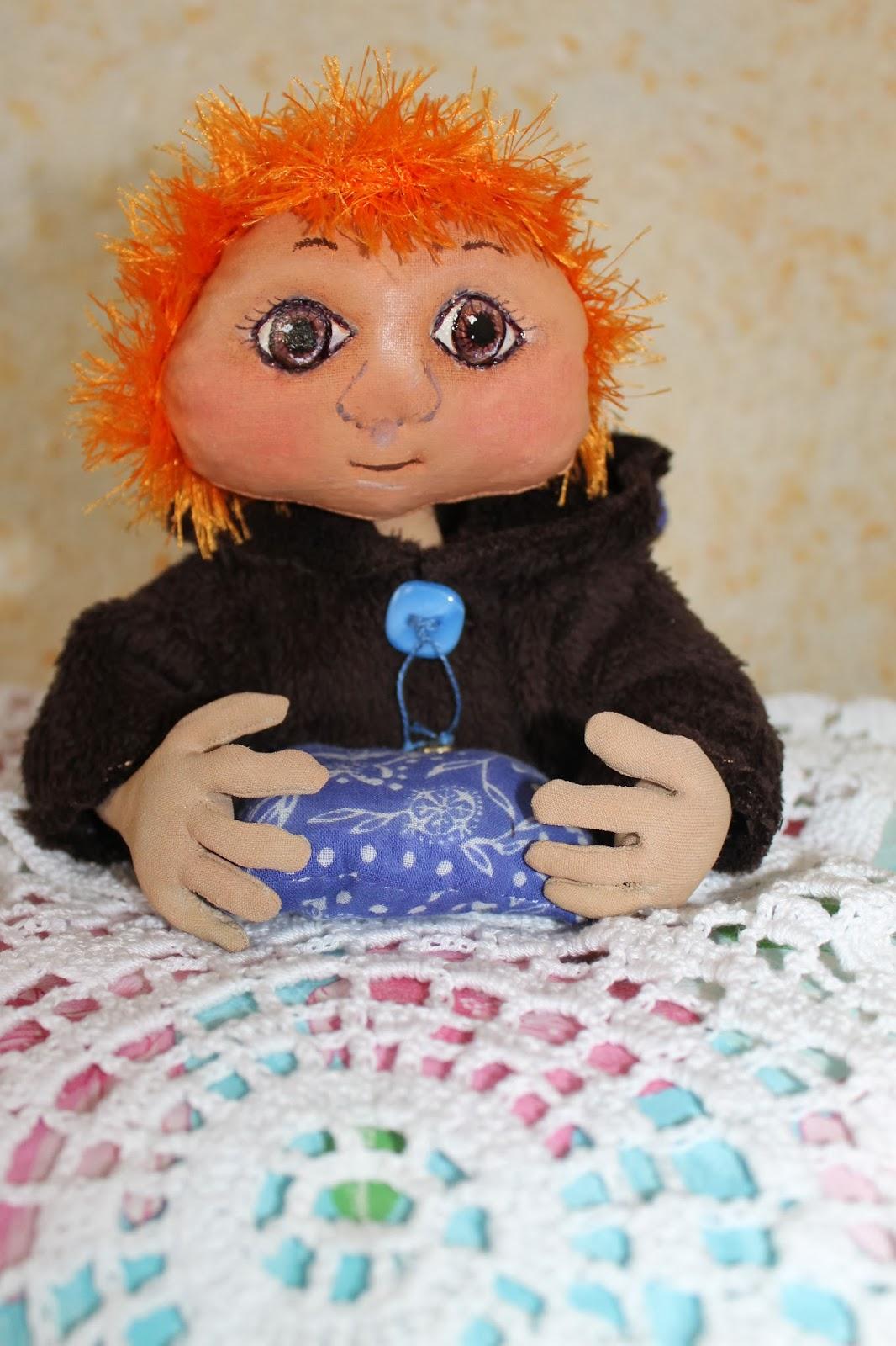 Авторская кукла для детской комнаты