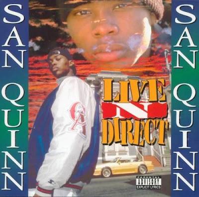 San Quinn – Live N Direct (CD) (1995) (FLAC + 320 kbps)