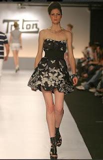 fotos de modelos de vestidos rock