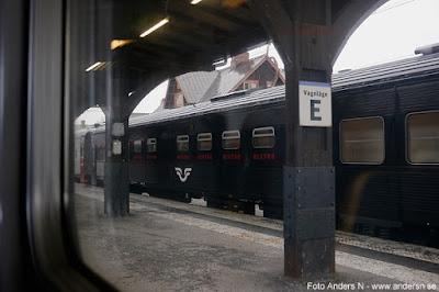 SJ, nattåg, Boden, station, Järnvägsstation