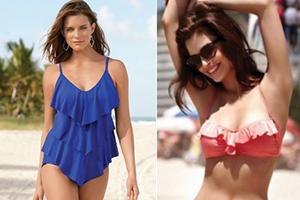 Volanlı Mayo Bikini Modelleri