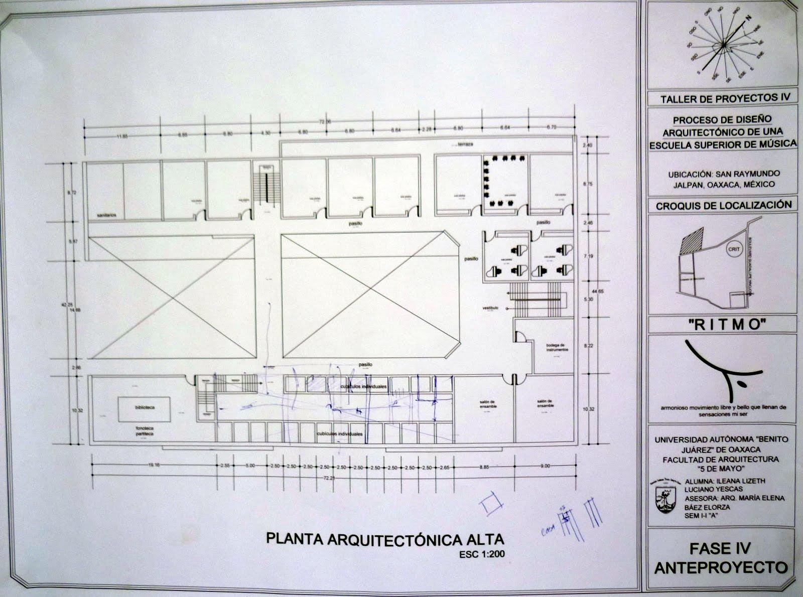 Fases de dise o primer propuesta de planta arquitect nica - Planta de salon ...