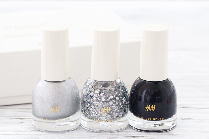 Quick Tip: H&M Beauty «Heaven Sent» Nail Colour Trio