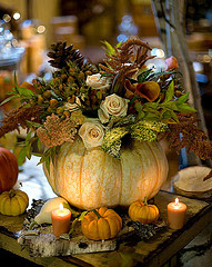 Fall Wedding Table Decorations