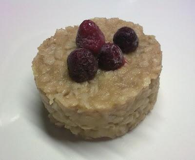Pastel de Avena y Manzana al Micro