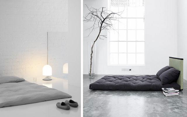 Un tatami o una cama en el suelo mi casa es feng - Colchon tatami ...