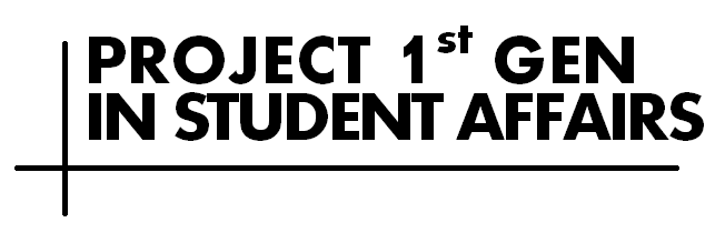 Project 1st Gen in Student Affairs